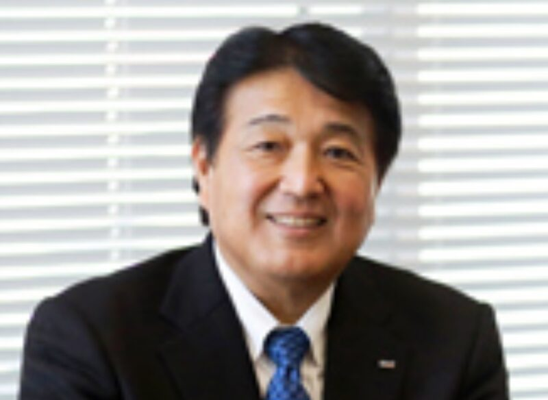 ロート製薬社長の杉本雅史の写真