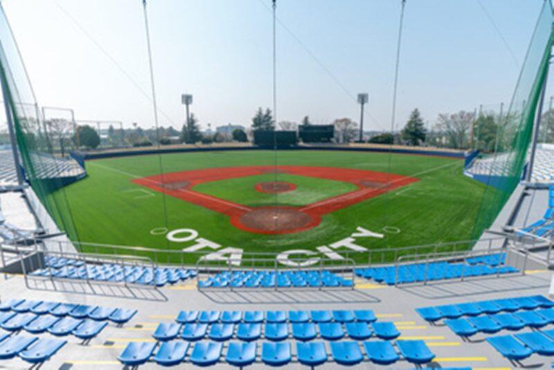 太田市運動公園野球場の写真