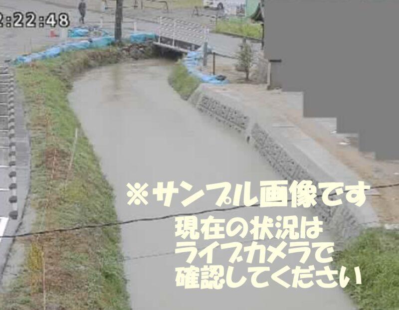 東広島市入野川の写真