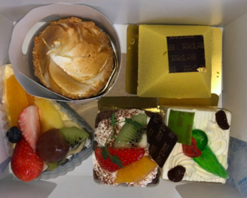 ケーキの写真